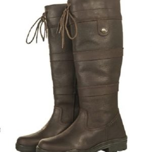 Hkm Belmond Country Boots Brown Standard Wide Calf – FREE DELIVERY !!!