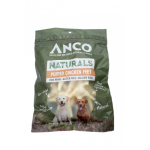 Anco Naturals Puffed Chicken Feet ***£1.79*** COLLECT IN PERSON FOR THIS SPECIAL ONLINE DEAL  !!!