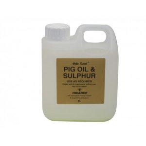 Gold Label – Pig Oil & Sulphur X 1ltr – FREE DELIVERY !!!