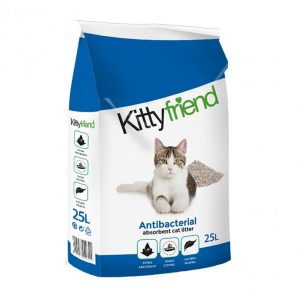 Kitty Friend  Antibacterial Absorbent Cat Litter 25ltr Bag  ***£9.99*** COLLECT IN PERSON FOR THIS SPECIAL ONLINE DEAL   !!!
