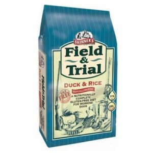 Skinner's Hypoallergenic Field & Trial Duck & Rice 15kg – FREE DELIVERY !!!