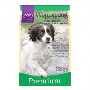 Sneyds Wonderdog Premium CHICKEN & RICE 24% Protein 15kg ***£24.99*** COLLECT IN PERSON FOR THIS SPECIAL ONLINE DEAL  !!!