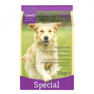 Sneyds Wonderdog Special 24% Protein 15kg ***£19.99*** COLLECT IN PERSON FOR THIS SPECIAL ONLINE DEAL  !!!